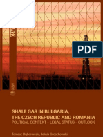Shale Gas in Bulgaria the Czech Republic and Romania Net