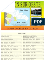 Mapa Region Sur-Oeste Republica Dominicana
