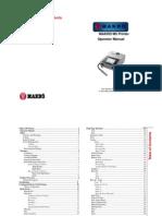 manual de operacion inkjet c84