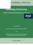 Defending Civil Society - Report of the World Movement for Democracy