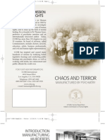 CCHR Pamphlet Chaos and Terror