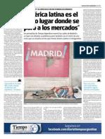 Crónica sobre crisis española