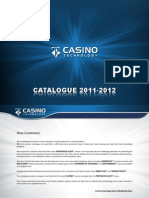 Casino Technology 2011-12 Catalog