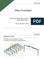 Stahlbau grundlagen - Das elastische Biegetorsionsproblem 2. Ordnung dünnwandiger Stäbe
