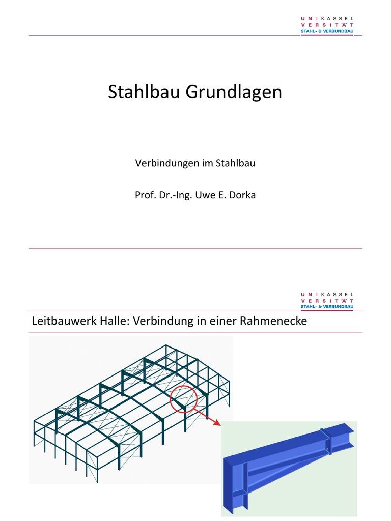 Stahlbau grundlagen 7 for K verband stahlbau