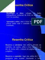 Resenha Crítica