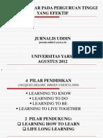 Cara Belajar 2012