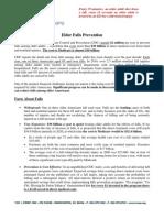 NCOA Falls Prevention Issue Brief