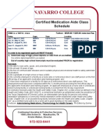 Certified Medication Aide