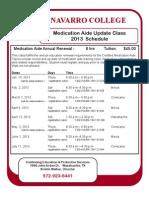 Certified Medication Aide - Renewal