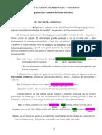 RESUMEN DE LA SINTAXIS BÁSICA DE 1º DE GRIEGO (SN)