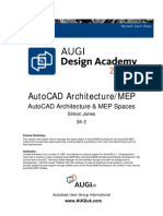 S4-2 AutoCAD Architecture and MEP Spaces