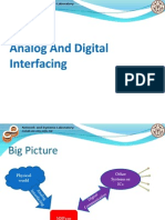 Analog and Digital Interfacing
