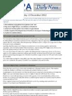2012-12-13 IFALPA Daily News