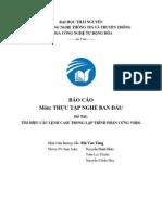 Báo cáo FPGA về câu lệnh case