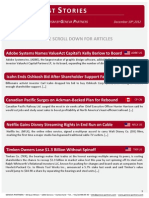 Top Activist Stories - 1 - A Review of Financial Activism by Geneva Partners