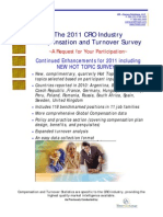 2011 Annual CRO Survey Information v1