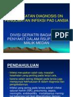 Fmd175 Slide Pendekatan Diagnosis Dn Pengobatan Infeksi Pada Lansia
