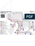 Hong Kong MRT Map
