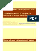 Facebook como espacio de comunicación institucional de emisoras radiofónicas