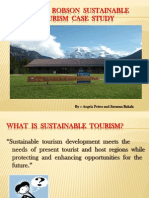 British Columbia-Mount Robson Provincial Park-Sustainable Tourism Case Study