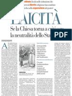 Stefano Rodotà su laicità e fede - La Repubblica 13.12.2012