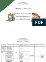 EL FOMENTO DE LA LECTURA EN LOS NIÑOS DE PREESCOLAR