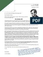 2012-12-13 Letter to Barack Obama