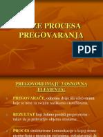 Faze Procesa Pregovaranja