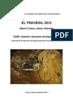 """Memoria CADE """"El Traviesu 2012"""""""
