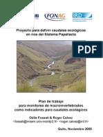 Ecuador Caudal Ecologico