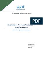 Fascicule Prog c