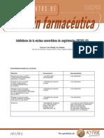 Efectos adversos de inhibidores de la eca