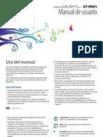 Manual de usuario GT-I9001