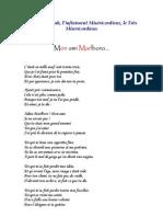 Poème - Marlboro mon ami