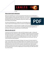 Ignite Sports Marketing Newsletter