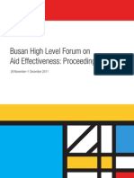 Busan High Level Forum on Aid Effectiveness_ Proceedings