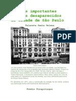 Os mais importantes predios desaparecidos de São Paulo