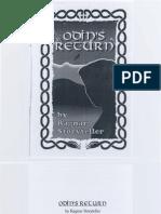Odin's  Return