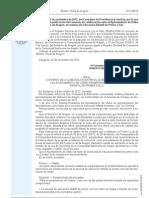 ORDEN de 22 de noviembre de 2012 CONVENIO DE COLABORACIÓN UTEBO Y GOBIERNO DE ARAGÓN