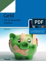 Detlef Pohl - Geld - Die 20 teuersten Irrtümer