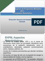 EHPM 2011 (presentación)