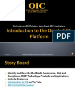 Intro Oracle Grc