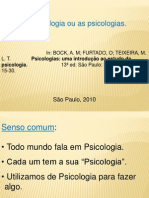 as psicologias