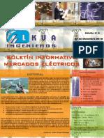Boletín Informativo Mercados Eléctricos LKVA Ingenieros Nº 006
