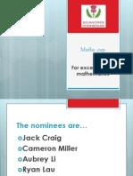 2012 Final Assembly Awards