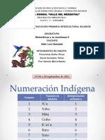 Numeración indígena Hñahñu