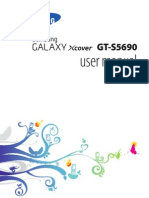 Manual User Samsung Galaxy Xcover