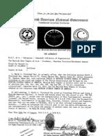 Moorish american judicial notice and proclamation.