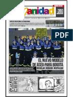 HUMANIDAD, Periódico Oficial de la Alcaldía Mayor de Bogotá,  Edición Especial, No.14, diciembre 2012
